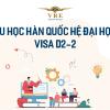 TÌM HIỂU DU HỌC HÀN QUỐC HỆ ĐẠI HỌC – VISA D2-2